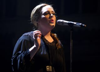 Adele Performs At Paradiso In Amsterdam
