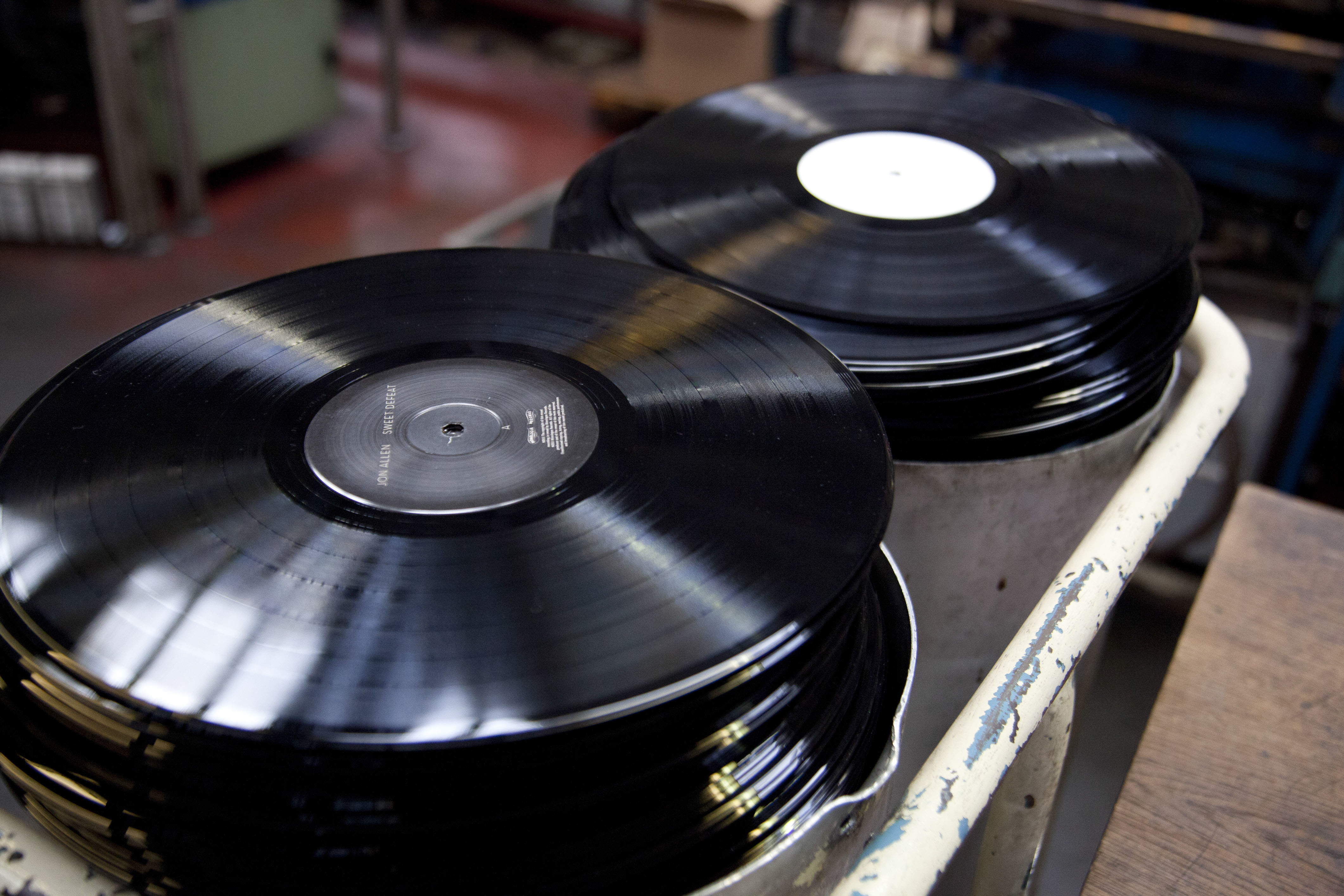 UK - Culture and industry - The Vinyl Factory still cuts records in Uxbridge