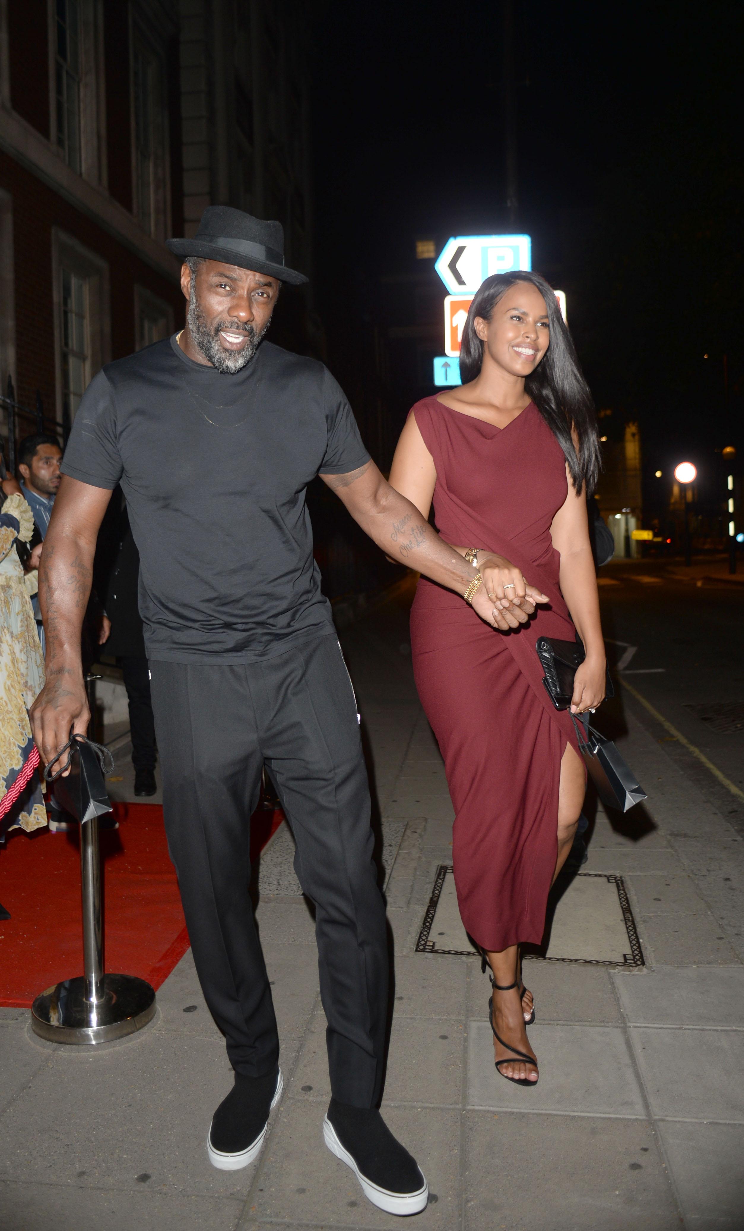 Idris and Sabrina Elba