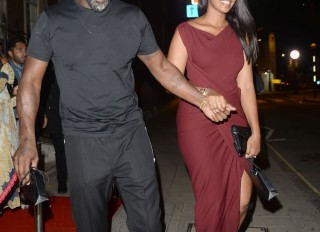 Idris and Sabrina Elba