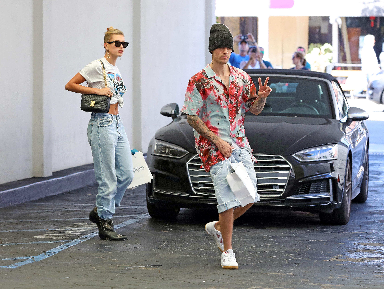 Justin Bieber and wife Hailey Rhode Bieber