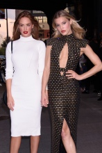 Haley Kalil and Joy Corrigan at the E!, ELLE, & IMG Host NYFW Kick-Off Party Top of the Standard, NY