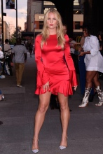Sailor Brinkley at the E!, ELLE, & IMG Host NYFW Kick-Off Party Top of the Standard, NY