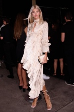 Devon Windsor at the E!, ELLE, & IMG Host NYFW Kick-Off Party Top of the Standard, NY