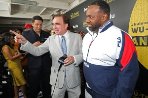 George Whipple and Raekwon Red Carpet and After Party Pictures from HULU's Wu-Tang: An American Saga