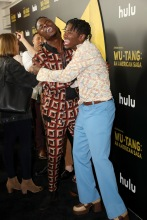 Johnell Young TJ Atoms Red Carpet and After Party Pictures from HULU's Wu-Tang: An American Saga