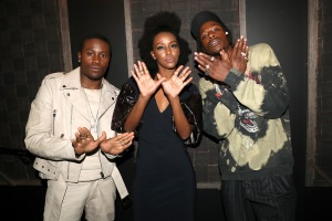 Shameik Moore, Ebony Obsidian, Joey Bada$$ Red Carpet and After Party Pictures from HULU's Wu-Tang: An American Saga