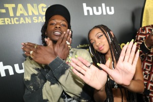 Joey Bada$$ Zolee Griggs Red Carpet and After Party Pictures from HULU's Wu-Tang: An American Saga