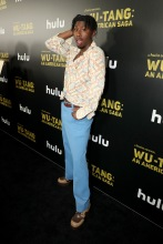 TJ Atoms Red Carpet and After Party Pictures from HULU's Wu-Tang: An American Saga