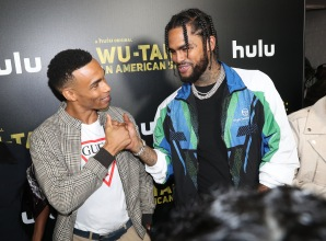 Julian Elijah Martinez Dave East Red Carpet and After Party Pictures from HULU's Wu-Tang: An American Saga