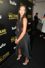 Zolee Griggs Red Carpet and After Party Pictures from HULU's Wu-Tang: An American Saga