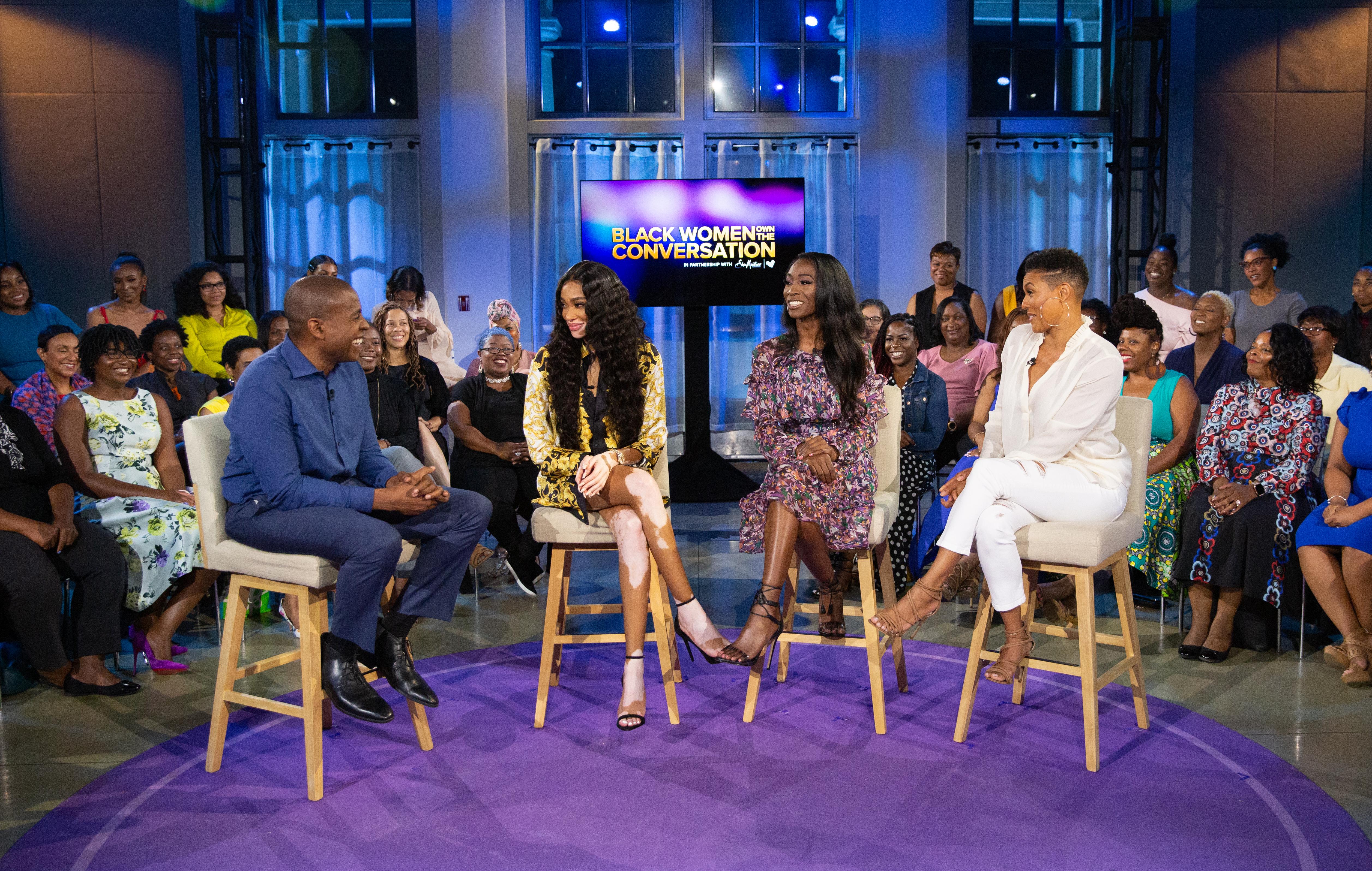 "Set photo from ""OWN Spotlight: Black Women OWN The Conversation"""