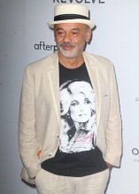 Christian Louboutin at The Daily Row 7th Annual Fashion Media Awards held the Rainbow Room