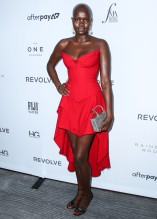 Thijin Bol at The Daily Row 7th Annual Fashion Media Awards held the Rainbow Room