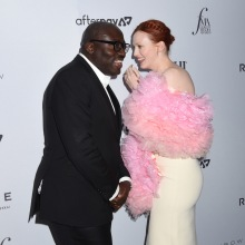 Edward Enninful and Karen Elson The Daily Row 7th Annual Fashion Media Awards held the Rainbow Room