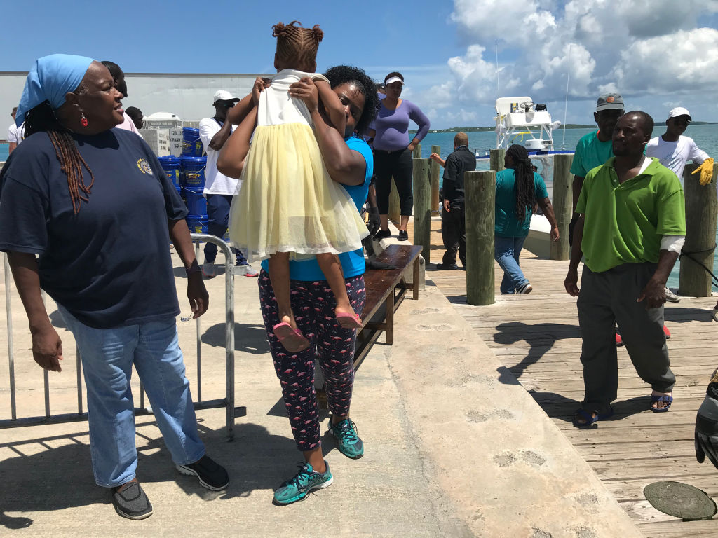 Dorian rampaged through the Abacos. It spared their island. Now theyâre embracing evacuees