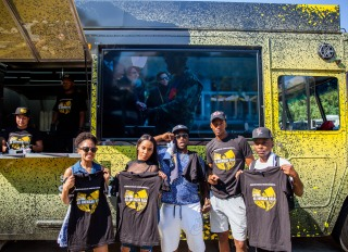 Wu Tang Ice Cream Truck At ONE MusicFest