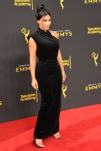 Kim Kardashian West at the 2019 Creative Arts Emmy Awards