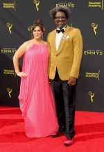 Kamau Bell at the 2019 Creative Arts Emmy Awards