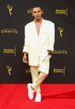 Olivier Rousteing at the 2019 Creative Arts Emmy Awards
