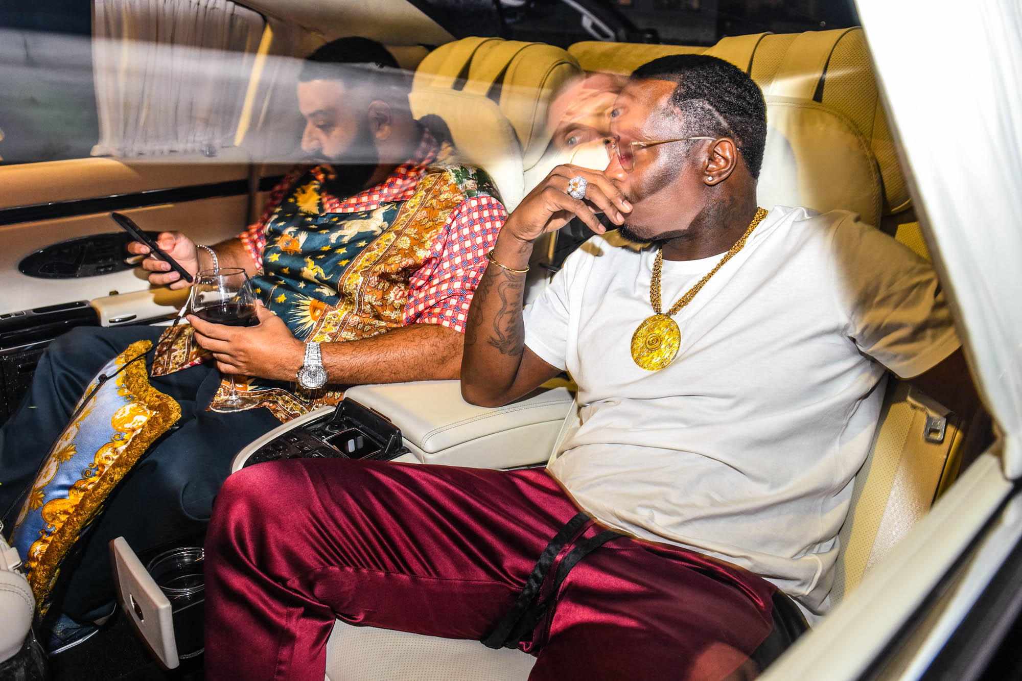 Atlanta's Music Midtown After Party Hosted by P-Diddy and DJ Khaled at club Compound.