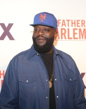 Rick Ross at the Godfather Of Harlem Screening at the Apollo