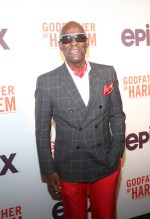 Dapper Dan at the Godfather Of Harlem Screening at the Apollo
