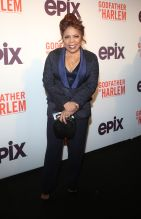 Valerie Simpson at the Godfather Of Harlem Screening at the Apollo