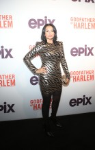 Kathrine Narducci at the Godfather Of Harlem Screening at the Apollo