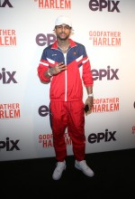 Dave East at the Godfather Of Harlem Screening at the Apollo