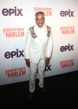 Giancarlo Esposito at the Godfather Of Harlem Screening at the Apollo