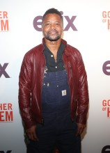 Cuba Gooding Jr. at the Godfather Of Harlem Screening at the Apollo