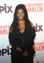 Scottie Beam at the Godfather Of Harlem Screening at the Apollo