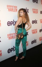 Kiana Alexis at the Godfather Of Harlem Screening at the Apollo