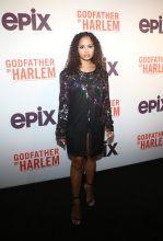 Krystal Vega at the Godfather Of Harlem Screening at the Apollo