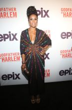 June Ambrose at the Godfather Of Harlem Screening at the Apollo
