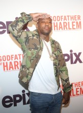 Maino at the Godfather Of Harlem Screening at the Apollo