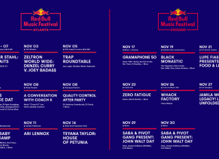 Red Bull Music Festival Atlanta Announcement