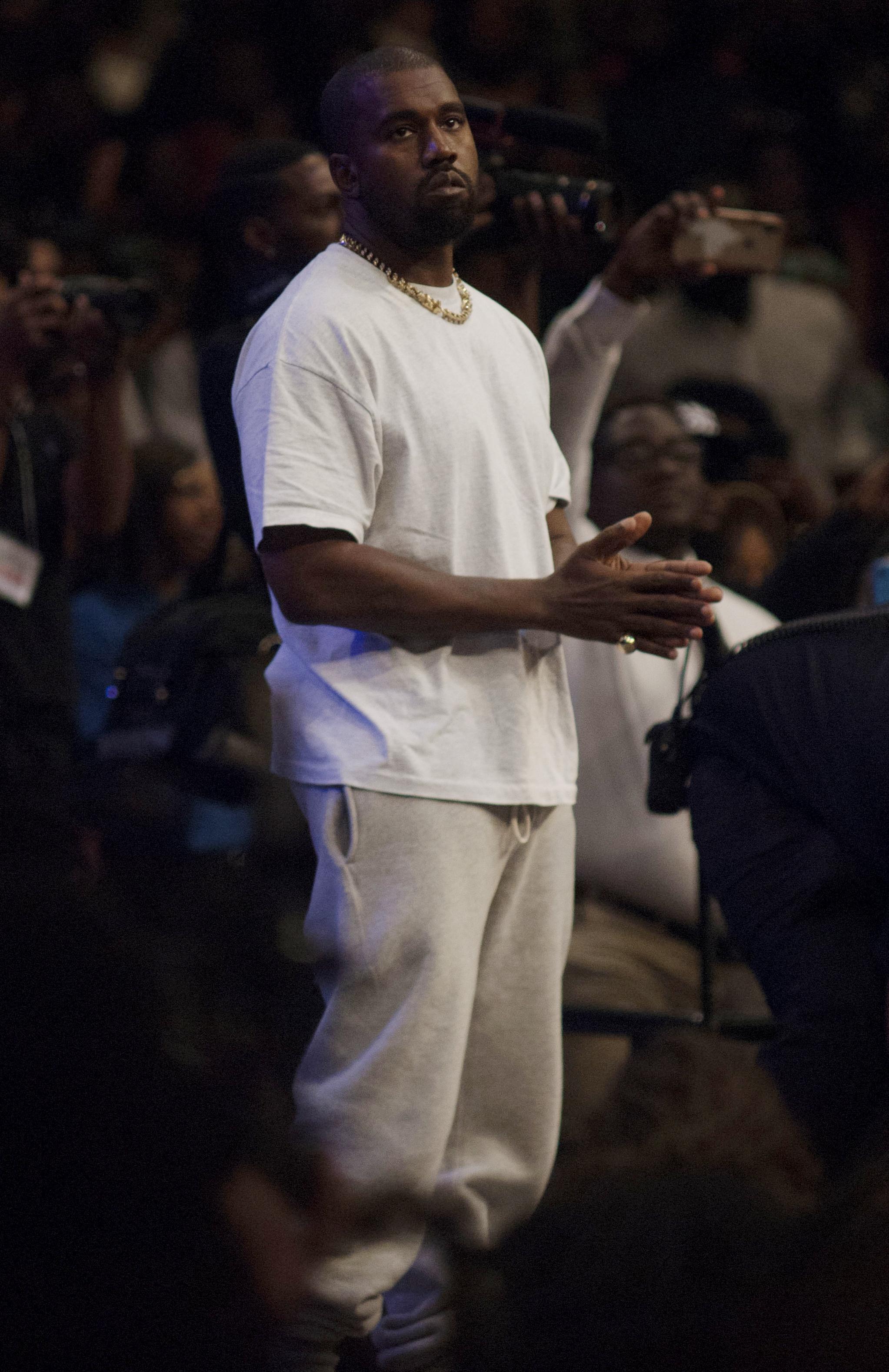 Kanye West sunday church service in Atlanta