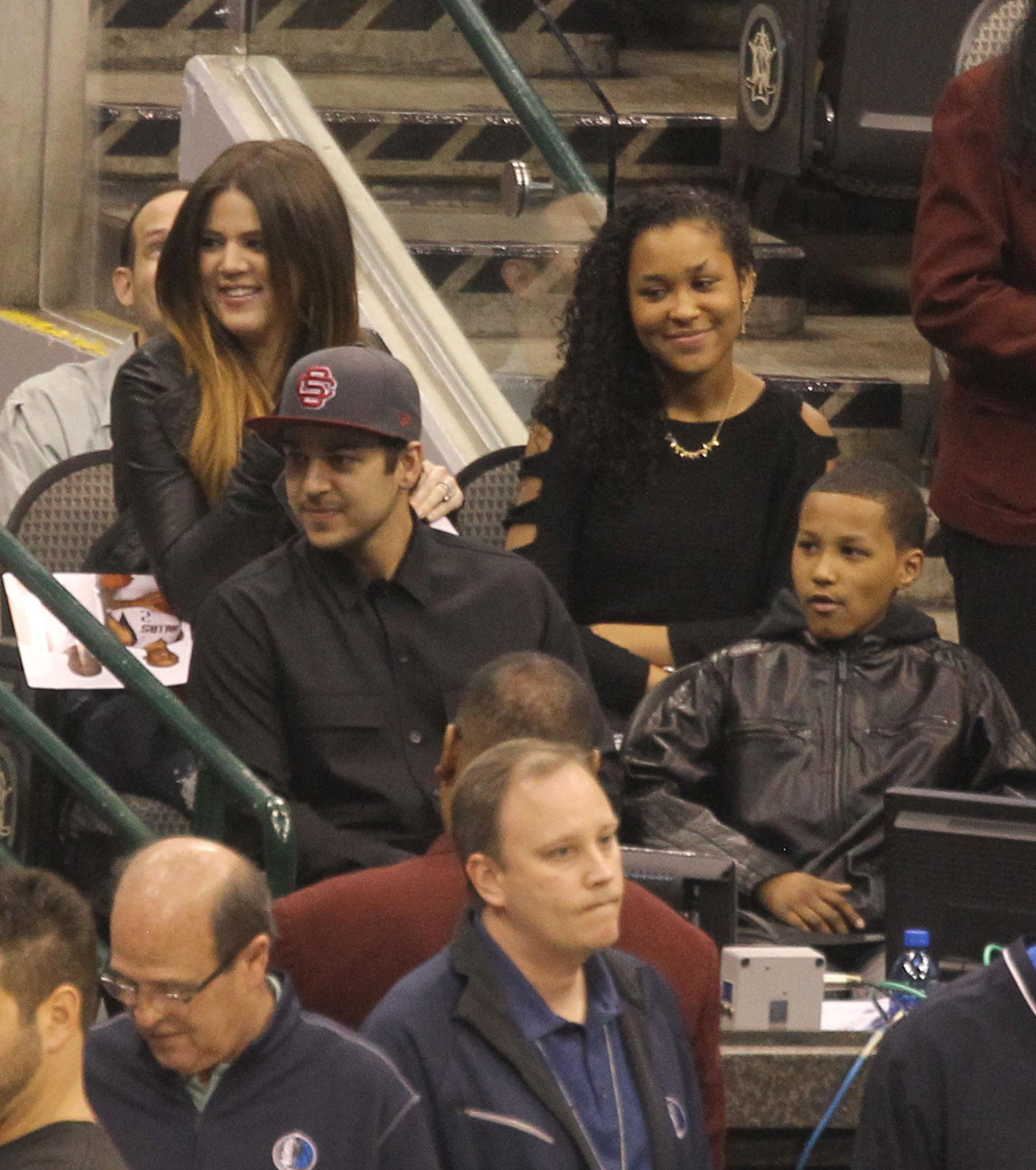 Khloé Kardashian Lamar Odom Rob Kardashian Destiny Odom Lamar Jr.