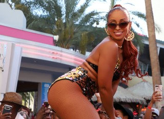 MYA Live Performance at Go Pool - Las Vegas