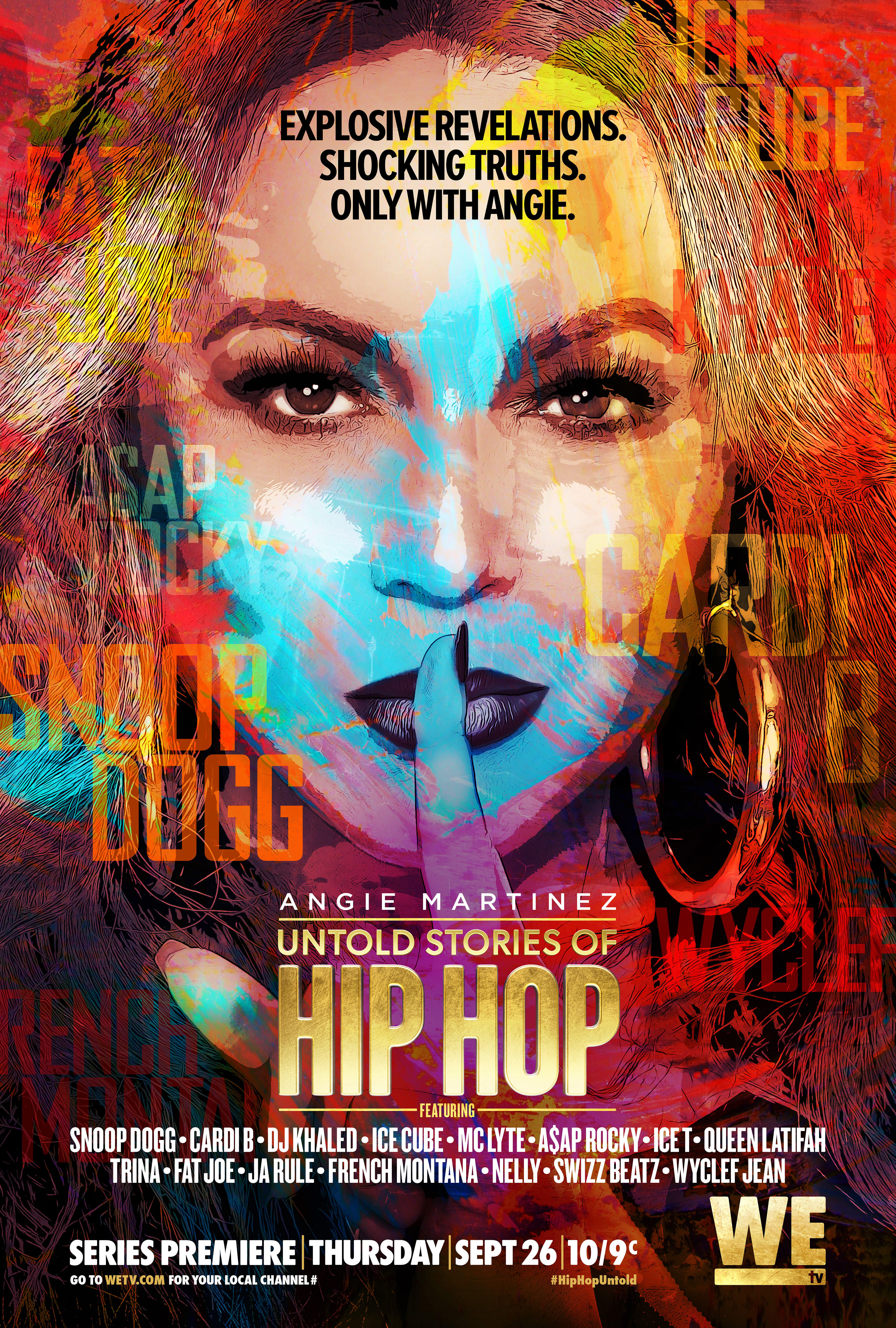 Key Art For Untold Stories Of Hip Hop With Angie Martinez