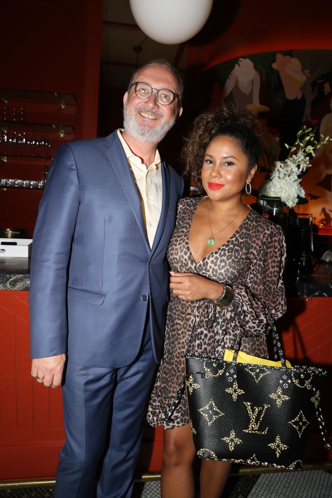 Angela Yee Attends D'USSE XO Dinner at Legacy Records in NYC
