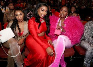 Megan Thee Stallion and Kash Doll 2019 BET Hip Hop Awards