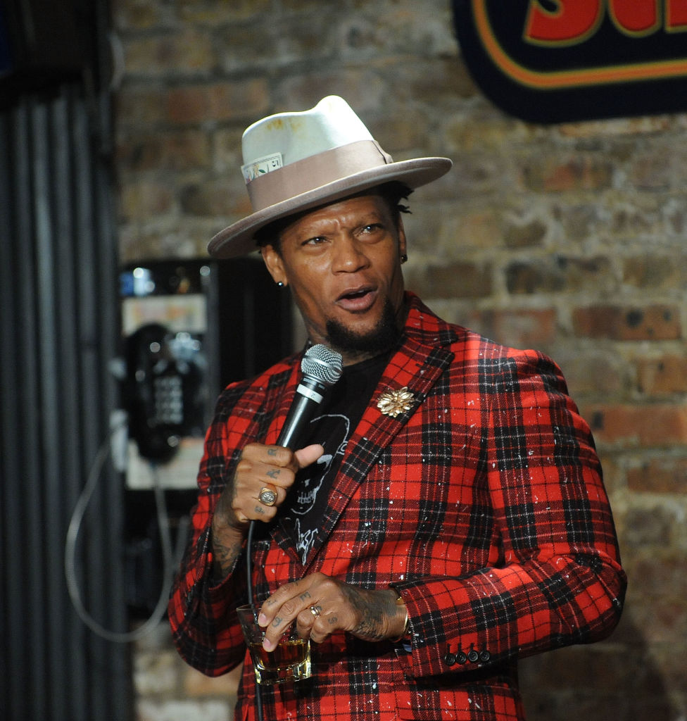 D.L. Hughley Performs At The Stress Factory