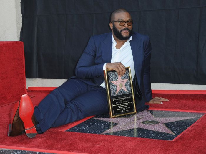 Tyler Perry Honored With Star On Hollywood Walk Of Fame