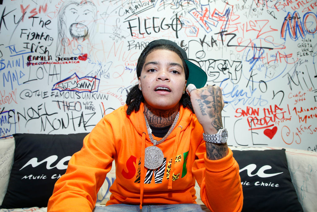 Young M.A Visits Music Choice