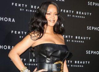Rihanna at Fenty Puma by Rihanna launch party