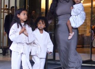 Kim and Kourtney Kardashian get their children baptized in Armenia