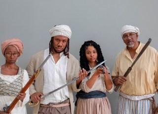 Slave Revolt Reenactment